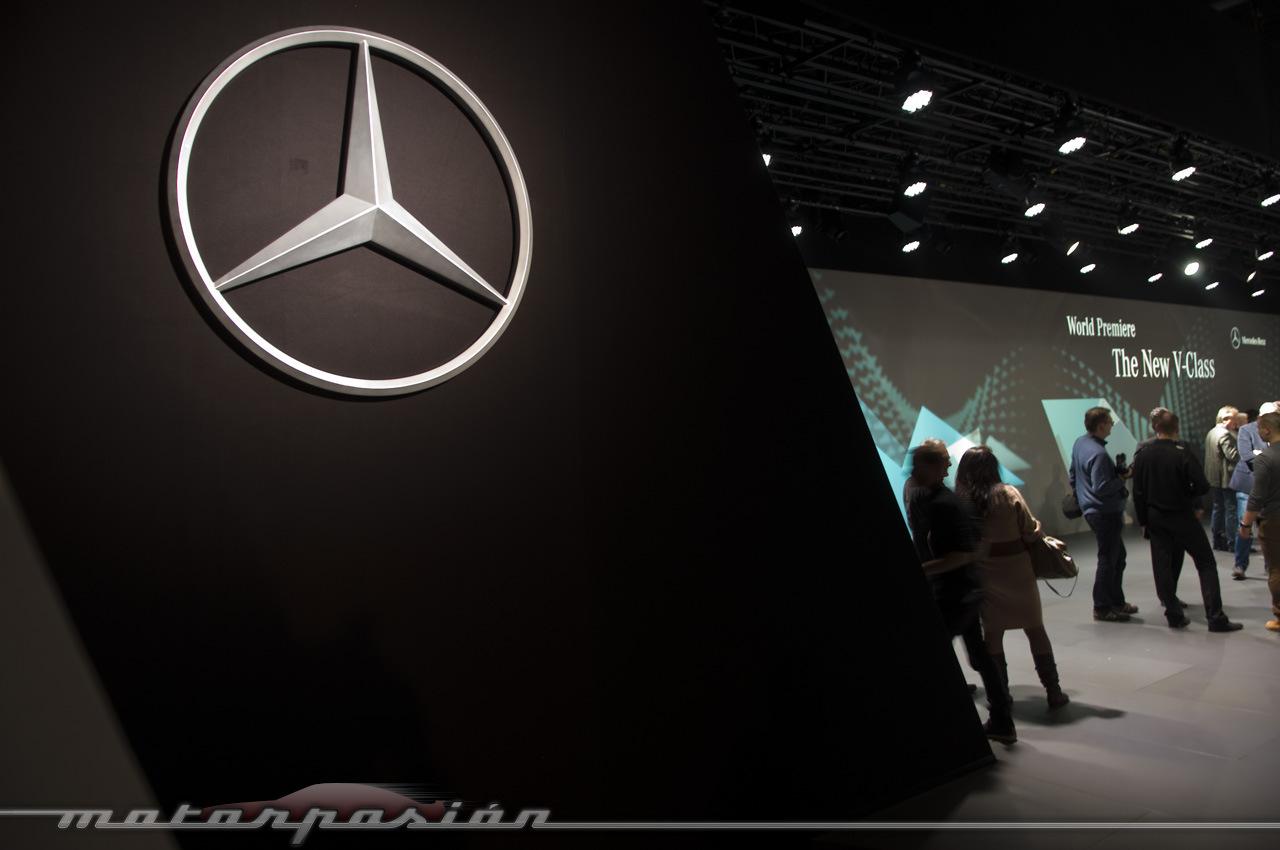 Foto de Mercedes-Benz Clase V (presentación) (34/40)
