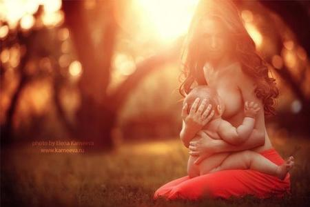Preciosas fotos de madres amamantando