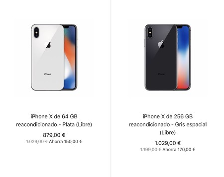 Iphone X Tienda Apple Reacondicionado 1