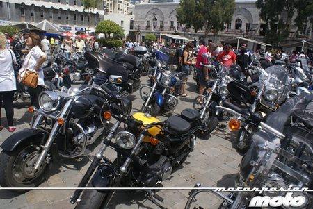 Las Harley-Davidson invaden Gibraltar