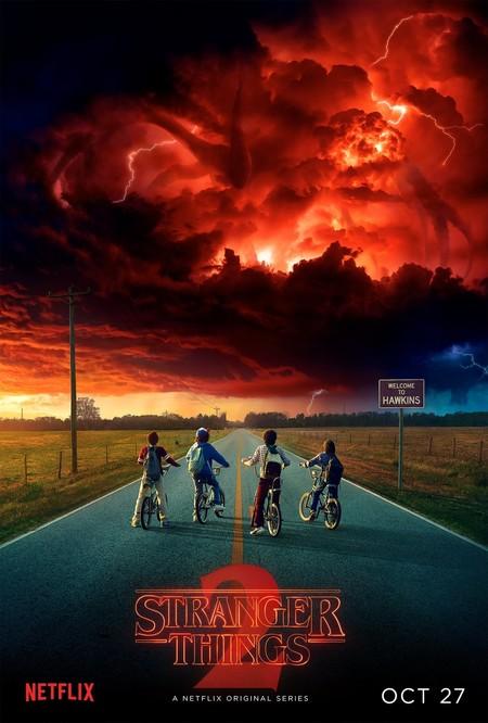 Netflix anuncia que Stranger Things 2 saldrá el 27 de octubre y lo hace con nuevo cartel