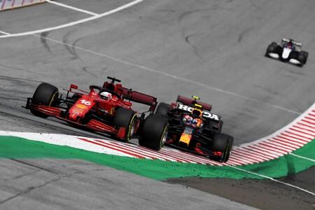 Leclerc Austria F1 2021