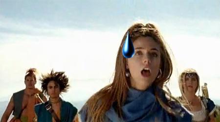 Españoles hablando en castellano en el anuncio nipón de 'Dragon Quest VI'. Penoso, el peor anuncio de la historia
