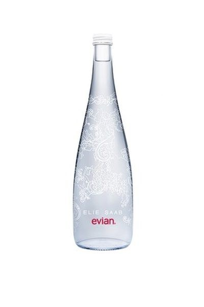 Elie Saab diseñará una botella para Evian, edicion limitada 2014