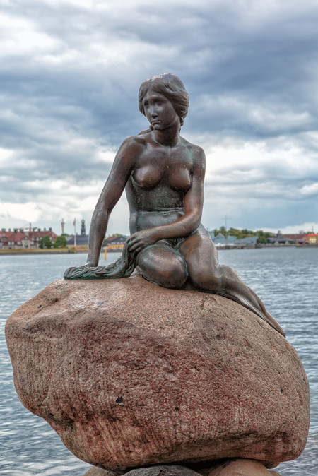 Copenhagen The Little Mermaid Statue 2013