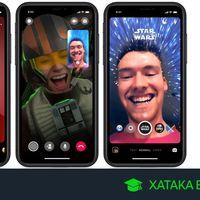Star Wars en Facebook Messenger: cómo usar el nuevo tema, los stickers y los filtros para las historias