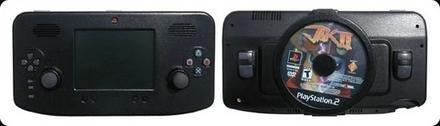 PalmPS2, la PS2 portátil
