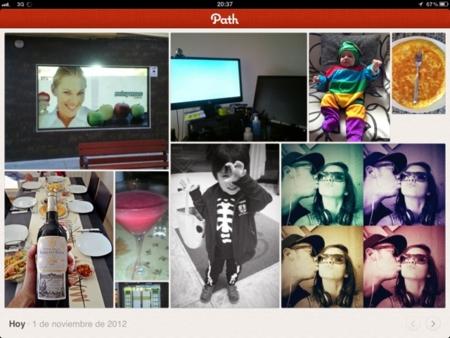 """Path, la red social """"todo en uno"""" da el salto al iPad"""