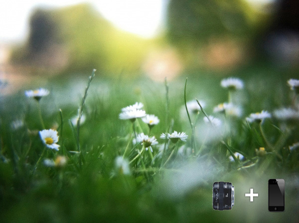 iPhone DSLR