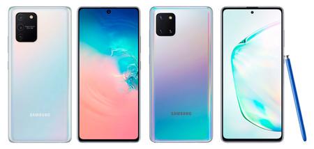 Samsung Galaxy S10 Lite y Galaxy Note 10 Lite: el apellido 'Lite' llega a la gama alta con menos sacrificios de lo esperado