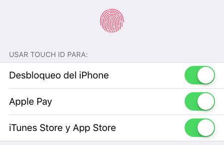 Preferencias Touch Id