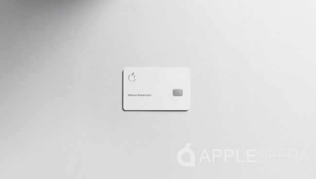 Así luce Apple Card: una tarjeta minimalista, de titanio y sin caducidad
