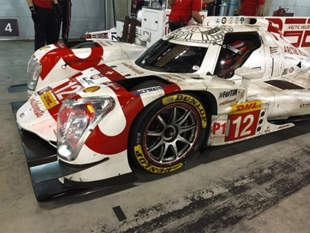 Rebellion Racing Dunlop Wec