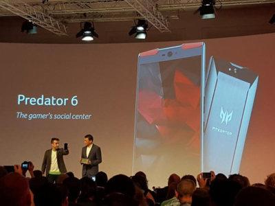 Acer Predator 6, un smartphone para disfrutar jugando