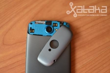 HTC One S análisis carcasa
