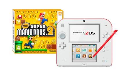 En PcComponentes nos adelantan el Black Friday con la Nintendo 2DS con New Super Mario 2 por 85,29 euros