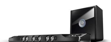 La Creative SuperWide X-Fi es probablemente la barra de sonido más bestia del mercado con nada menos que 1.000 vatios  RMS