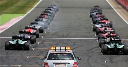 Parrilla Salida F1