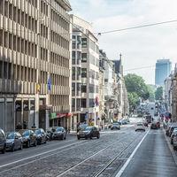 En Bruselas, los comercios creen que la mayoría de sus clientes va en coche. En realidad es el 19%