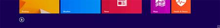 Windows 8.1, nuevos iconos