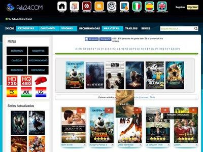 Cierra 'Pelis24', uno de los sitios de streaming de películas más populares en español