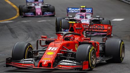 Leclerc Monaco F1 2019