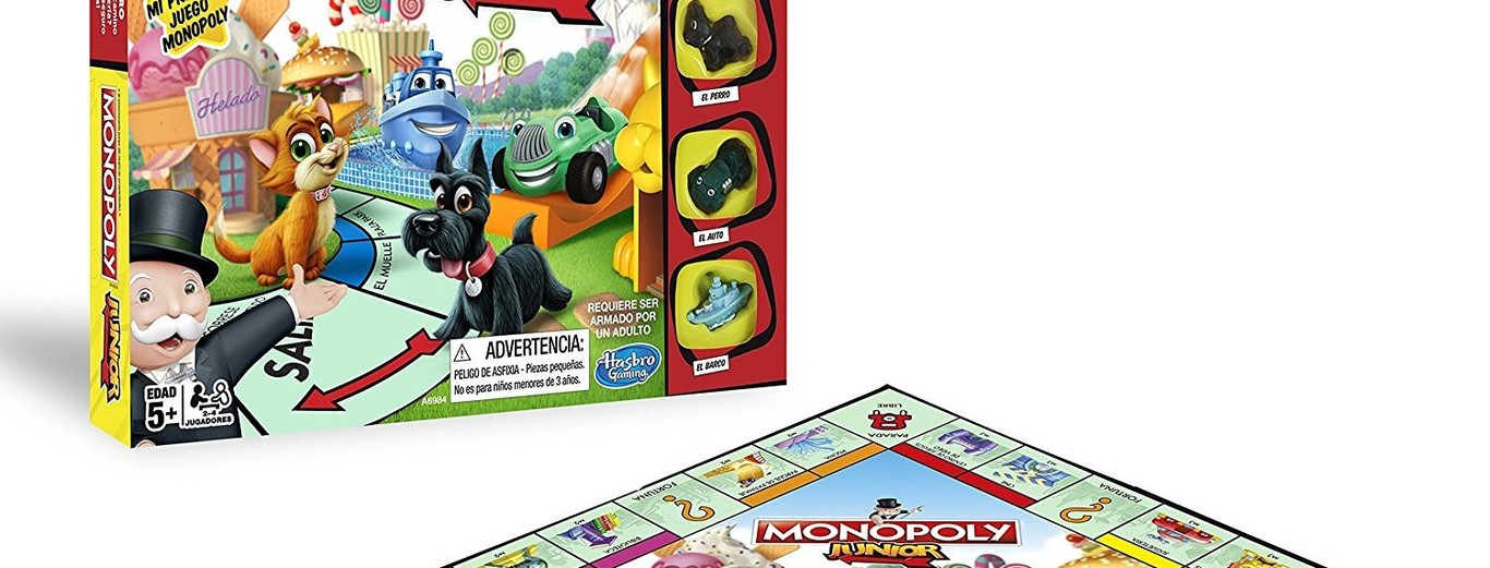 Monopoly Junior En Version Espanola A Su Precio Mas Bajo En Amazon