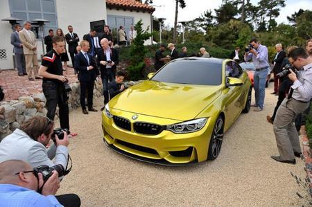 BMW M4 Coupé Concept, imágenes de su debut en Pebble Beach