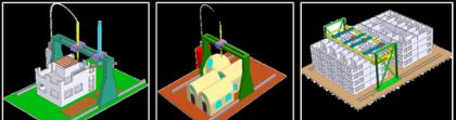 Construir una casa en un día con un robot