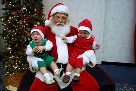 Ya sabemos por qué Papá Noel no quiere que los niños le vean