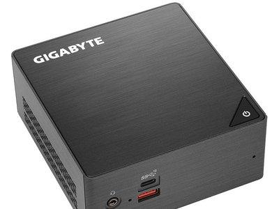 Gigabyte renueva sus mini-PC Brix con procesadores Intel de octava generación Kaby Lake