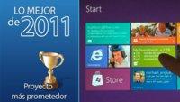 Proyecto más prometedor de 2011: Windows 8