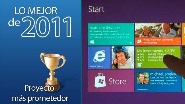 Proyecto más prometedor 2011