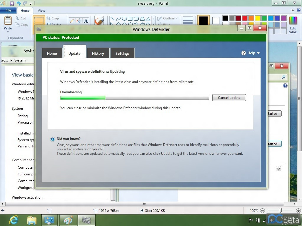 Foto de Windows 8 Consumer Preview Build 8220 (15/18)