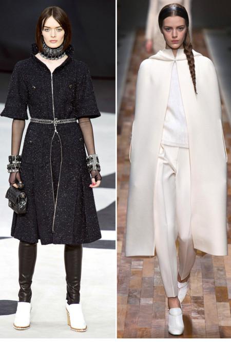 Chanel Valentino bota blanca