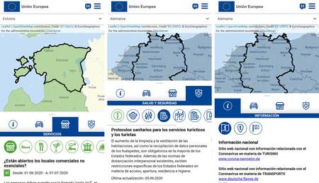 Mapa Movilidad Europea 4