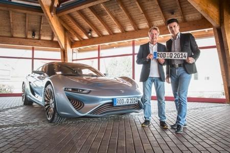 El Quant e-Sportlimousine recibe luz verde para rodar por Europa