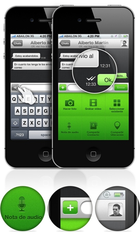 Nuevo Whats App Chats Internos
