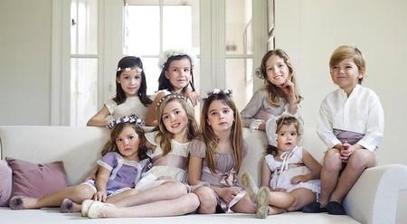 Moda Primavera/Verano 2014 para bebés y niños: trajes de arras