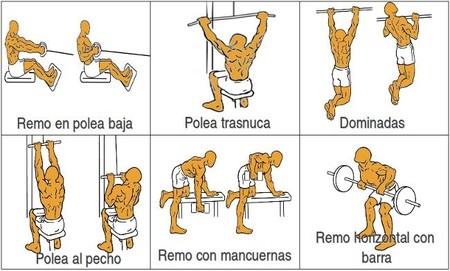 buenos ensanchar Cinco espalda ejercicios la para vad1BgqwO