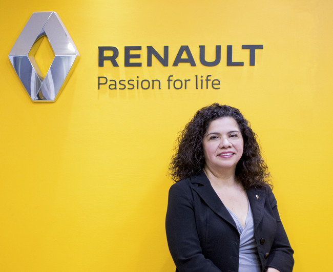 Magdalena López será la primera mexicana en el cargo de Directora General de Renault México