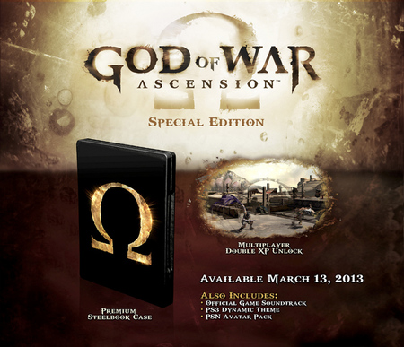 God of War Ascension Edición Especial