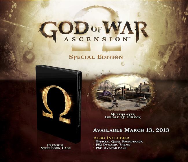 God of War Ascension Edición Especial