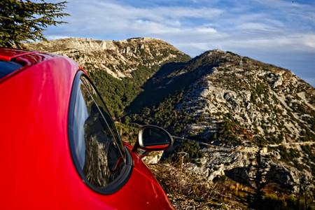Porsche 911 Carrera T lateral espejo
