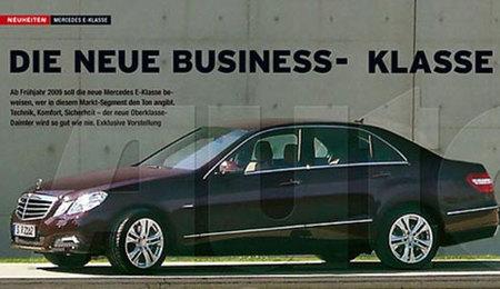 Posible imagen filtrada del nuevo Mercedes-Benz Clase E