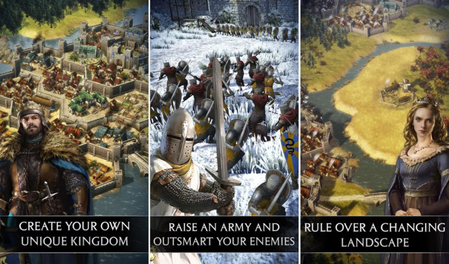 Total War Battles: Kingdom Comes to Android, Build and Defend Your Kingdom with The New Sega