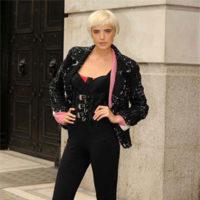 Agyness Deyn en la Semana de la Moda de Londres