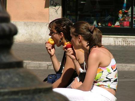 Prohibido hacer picnic en Roma