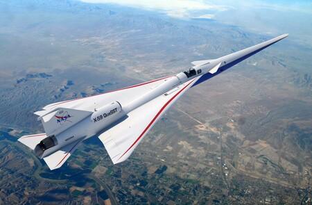 """Este avión de la NASA tiene una pantalla 4K en vez de parabrisas: así es el X-59 y su """"ventana"""" multicámara"""