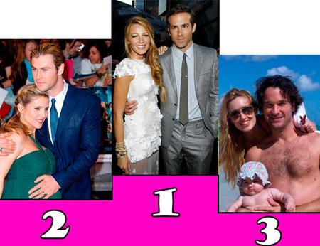 parejas 2012